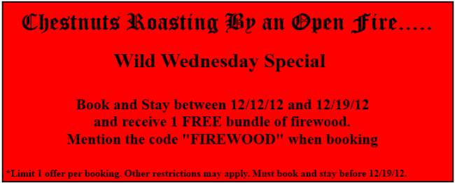 Firewood coupon