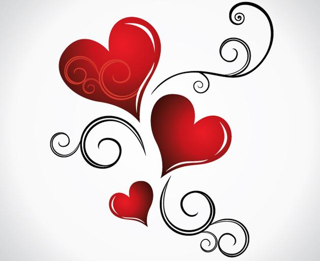 Heart Valentines Day Background_main