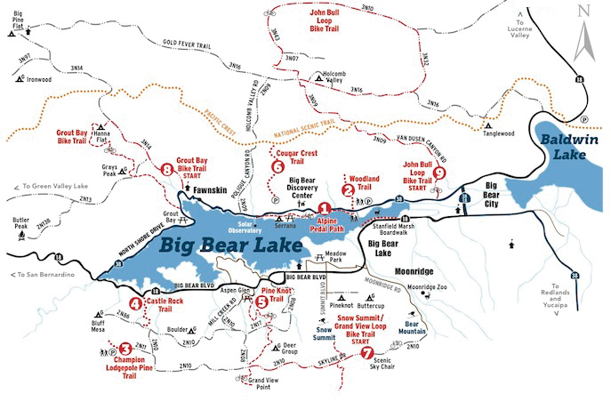 big bear ohv map with Tuesdays Topic Hiking In Big Bear on Richard Nixon additionally 8 likewise Destination Ride Lake Silverwood Ca additionally Ride Report 17 Carnegie Svra also 7.
