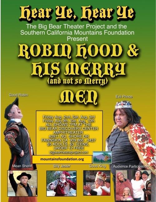 Robin Hood-The Panto Poster