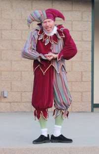 Steve Cassling as The Fool