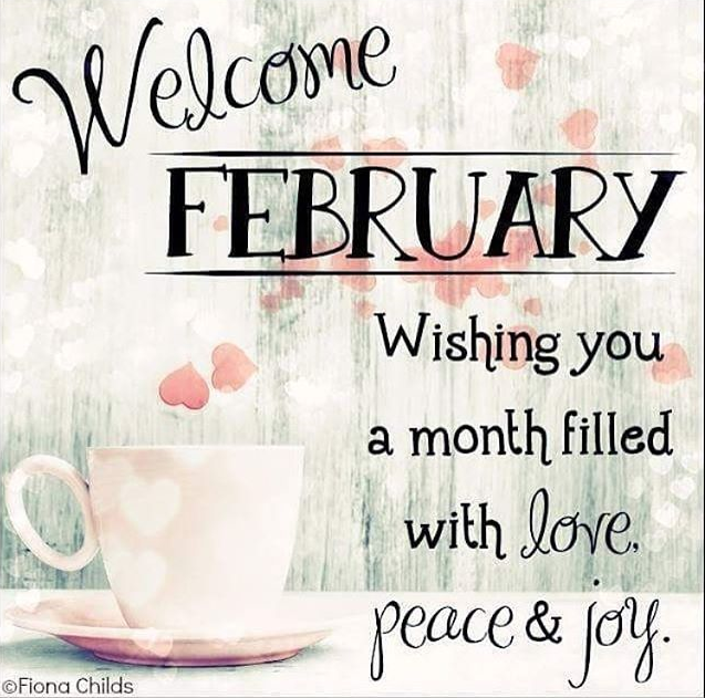 WelcomeFebruary